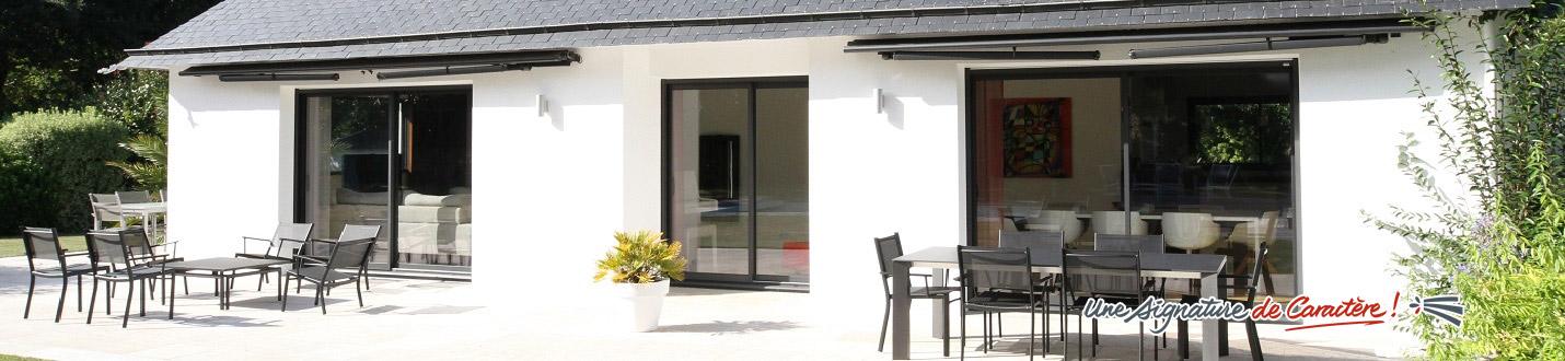 Portail de jardin aluminium - Le Nouy
